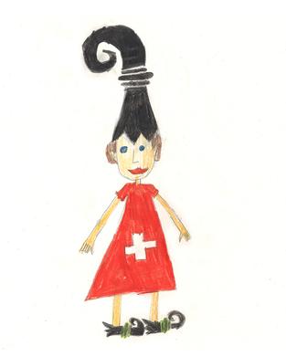 Basilea ist zwar Schweizerin, aber Käsefondue hat sie immer noch nicht gerne. An der Fasnacht sitzt sie als Waggis mit einer gelben Nase, hellblauen Augen und roten Bäckchen auf einem Wagen und schüttet Millionen und Millionen von Räpplis auf die junge Leute. Ihr Traumberuf ist Fährifrau zu werden: Sie möchte gerne ihre eigene Fähre besitzen und sie selber bemalen und gestalten mit ganz vielen Fischen und Muscheln.