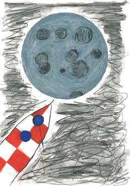 Ich könnte mir vorstellen Hochbauzeichner oder Grafikdesigner zu werden. Was auch gehen würde, wäre Arzt zu werden. Gerne würde ich mal auf den Mond fliegen. Ich mag den Mond sehr!