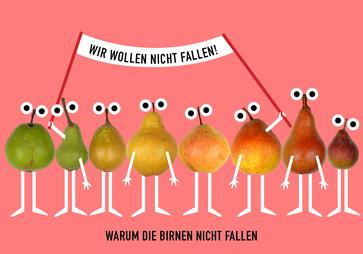 Warum die Birnen nicht fallen