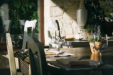 地中海風料理のレストラン
