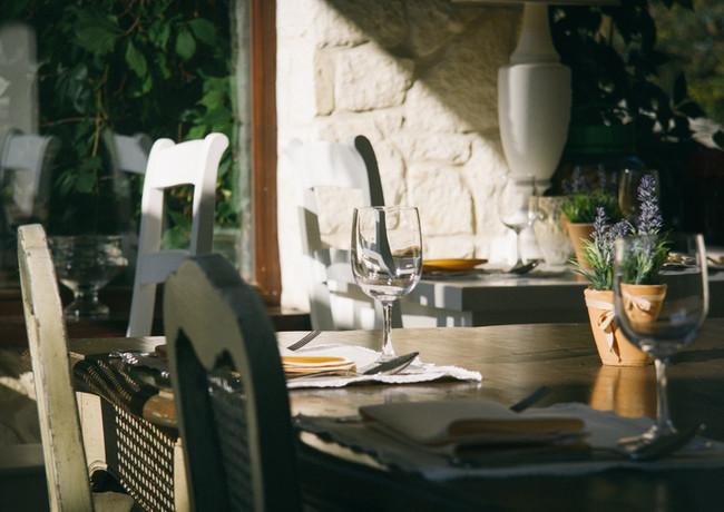 Restaurants in mediterraan