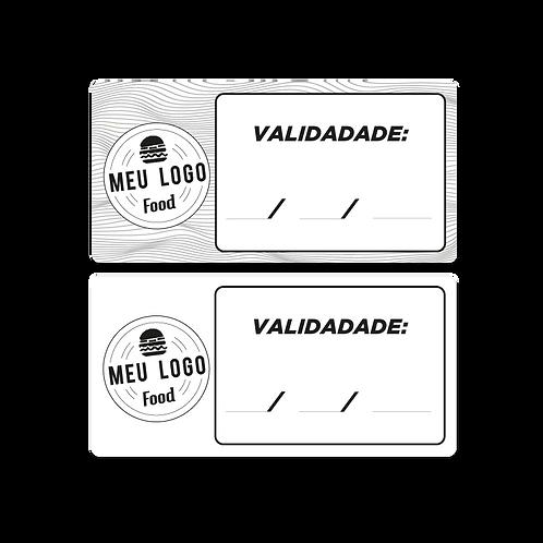 Etiqueta Data de Validade Delivery