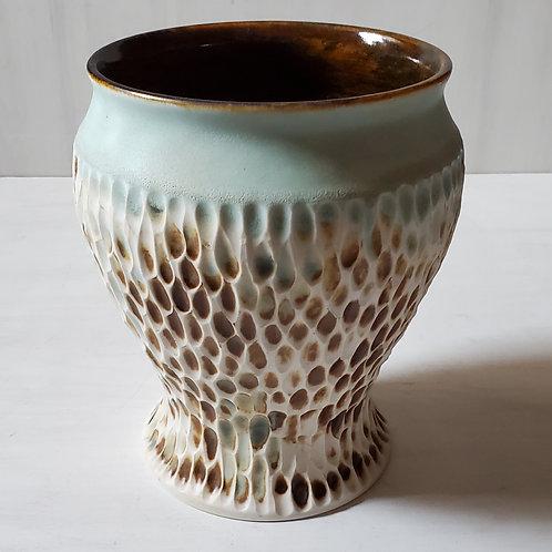 Porcelain Polypore Vase