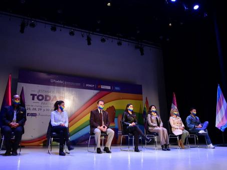 Celebra Ayuntamiento de Puebla actividades artísticas a favor del reconocimiento de la diversidad