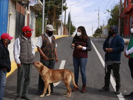 Ayuntamiento de Puebla invierte 30 mdp en pavimentación al sur