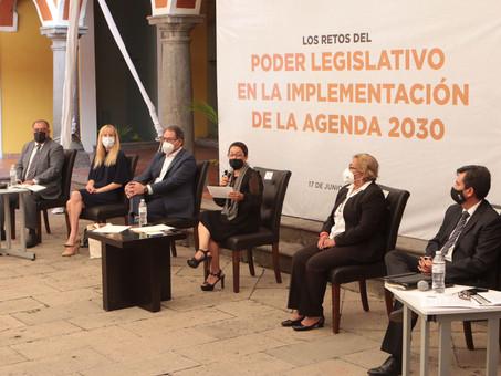 Realiza Congreso del Estado conversatorio sobre Los Retos del Poder Legislativo en la Implementación
