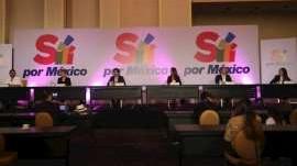 Manifiestan plataformas sociales apoyo a Sí por México