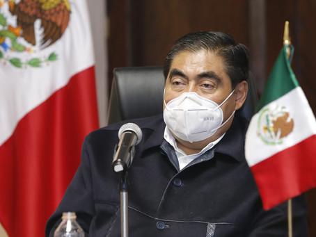 Mi Gobierno mantiene la lucha contra la corrupción: Miguel Barbosa