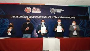 SSP ESTATAL Y AYUNTAMIENTO DE SAN ANDRÉS TRABAJAN DE LA MANO