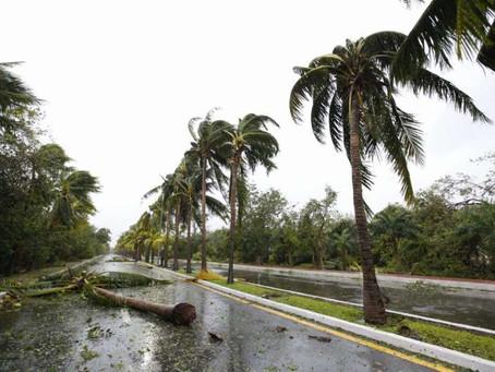 Huracán 'Delta' sólo ha dejado afectaciones menores en Quintana Roo: Protección Civil