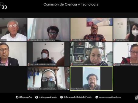 """En comisión de la LX Legislatura, llevan a cabo el conversatorio denominado """"El papel del CONCYTEP"""