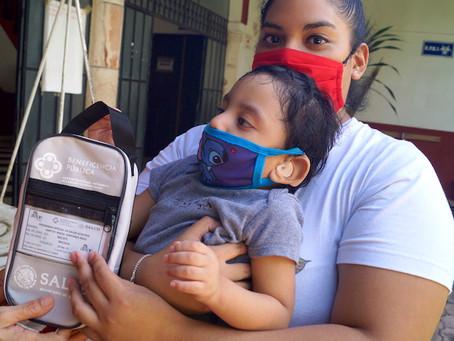 Avanza entrega de ayudas a población vulnerable en el interior del estado