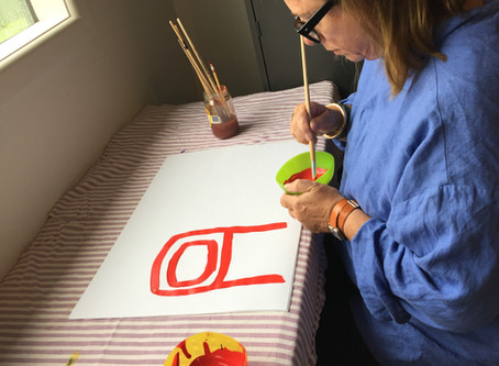 Jo's experience of a Creative Expression workshop