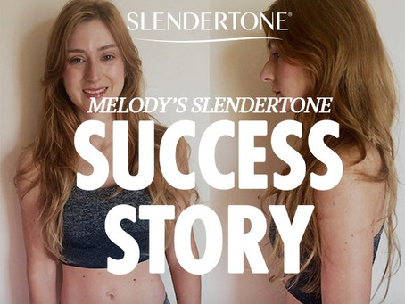 """Melody's Slendertone Success Story """"I was amazed at the visible results!"""""""