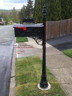 Mail Box & Post