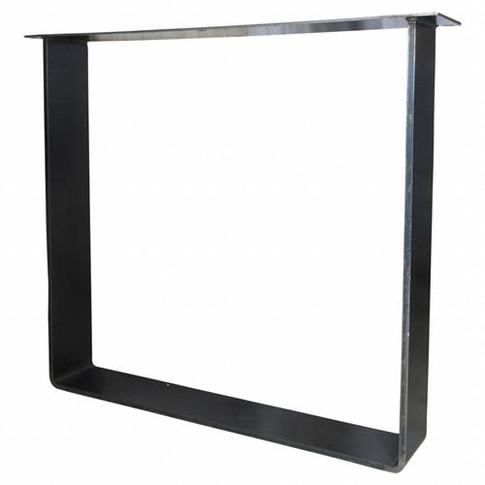 Metalen U-tafel-frame-onderstel