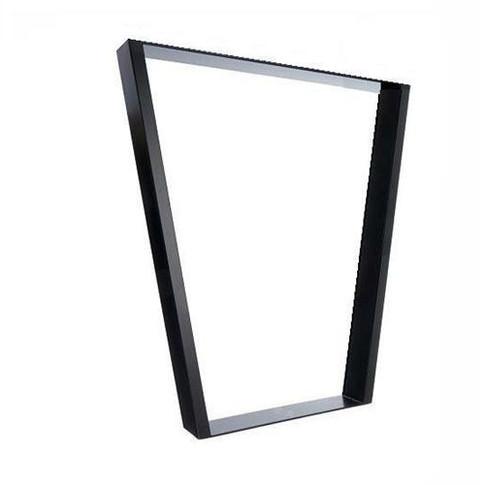 Metalen omgekeerde-trapeze-frame-onderstel-tafel