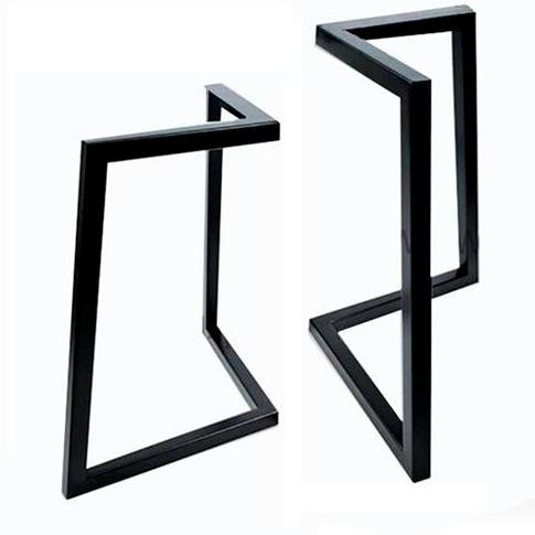 Metalen hoek-tafel-frame-onderstel