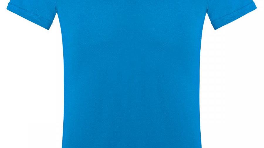 Футболка женская голубая (JASMIN)