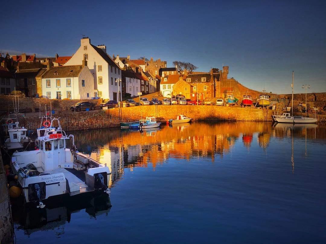 Crail Harbour by Colin Morrison