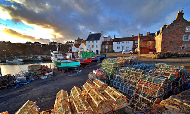 Crail Harbour by Gary McMeekin