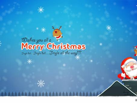 Merry Christmas & Festive Information