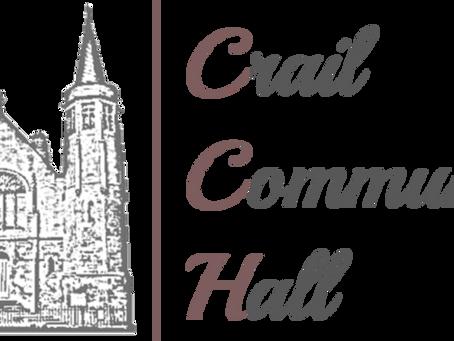 JOB VACANCY - PROJECT COORDINATOR - Crail Community Hall