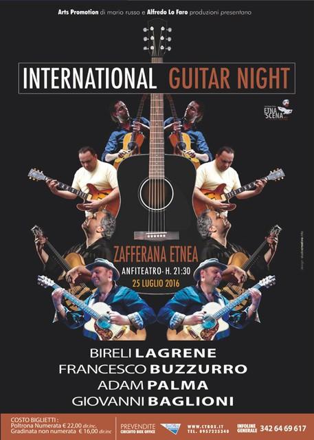 International Guitar Night with Bireli Lagrene, Adam Palma and Giovanni Baglioni.