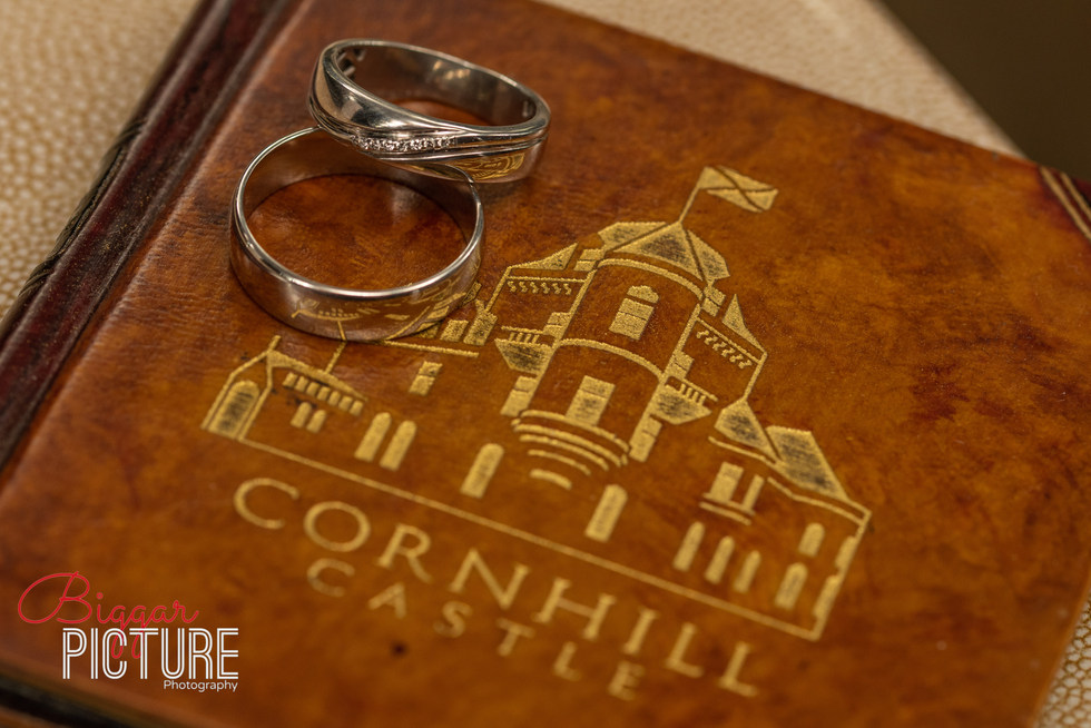 Conhill Castle Wedding