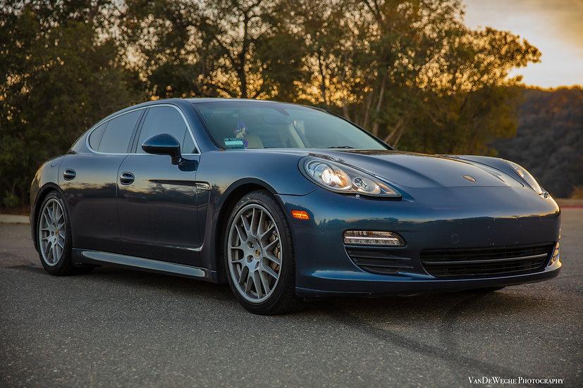 Sunset Porsche