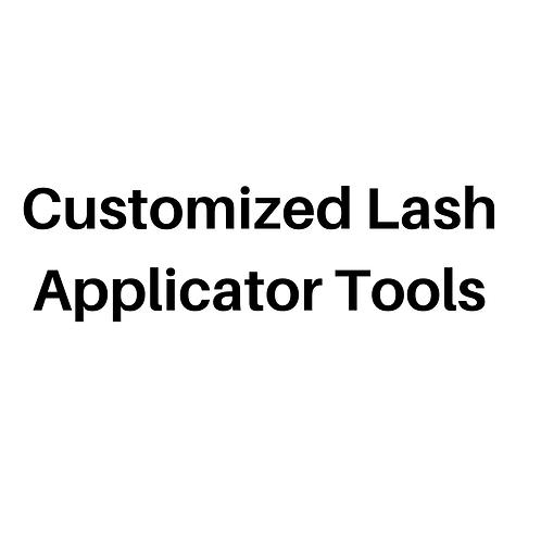 Customized Lash Applicator Tools (Kit C)