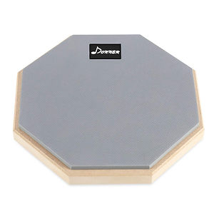 Donner 8 Inches Drum Practice Pad 2-Side