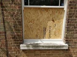 window secured in Hertfordshire