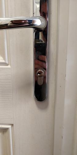 Locked out near Letchworth