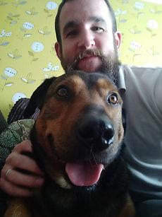 Me and my dog Basil