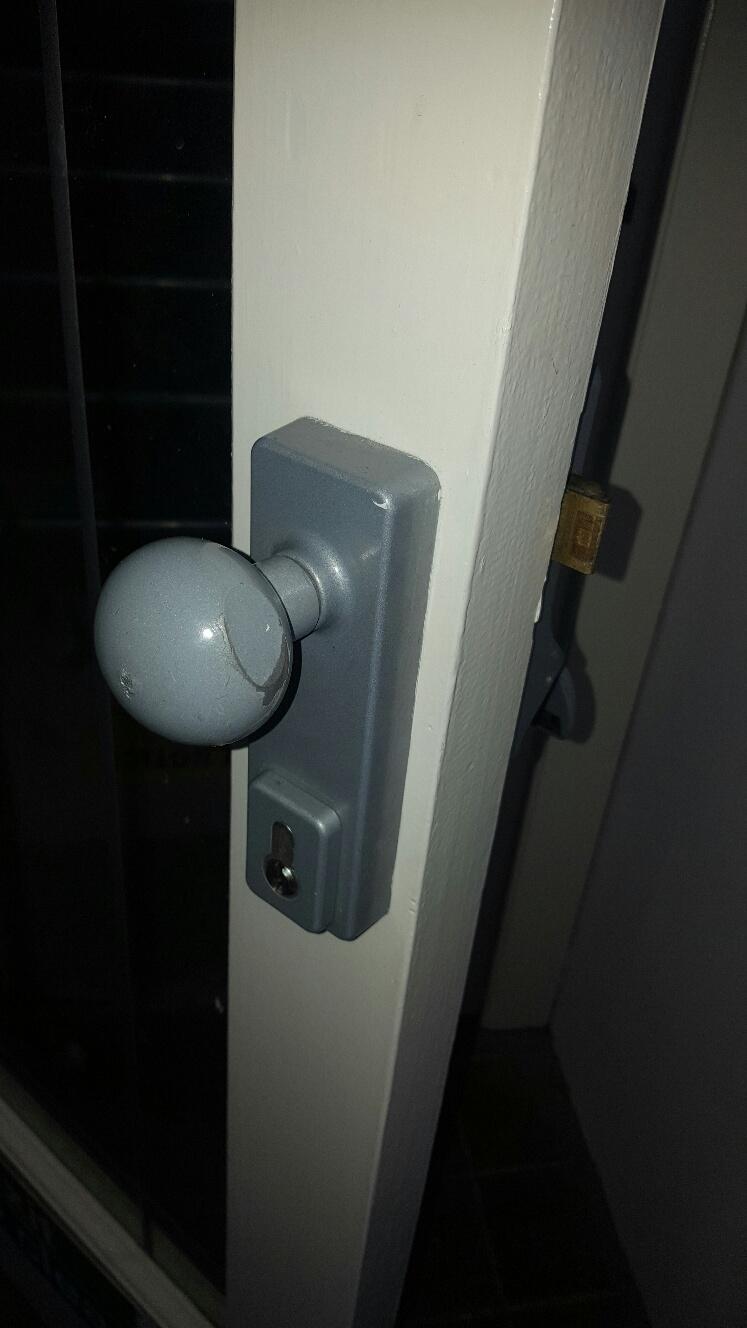 Lock repair in Hitchin