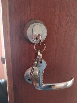 Lock change Hitchin