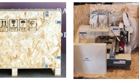 Livraison et guide d'installation de votre machine à broder Maison Broderie