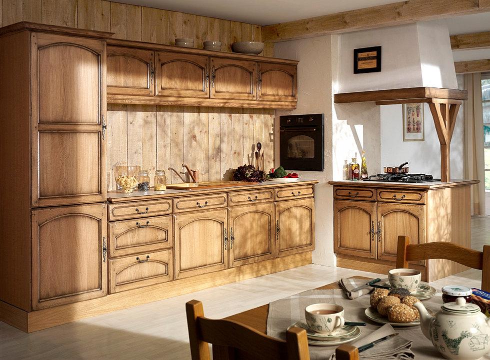 Modele de cuisine rustique cuisine moderne rustique emilie perruchet with modele de cuisine - Voir des modeles de cuisine ...