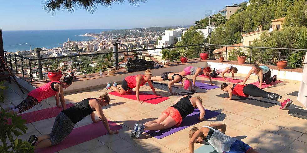 Träningsweekend Sitges Barcelona 1/4-5/4 2020
