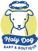 Holy Dog BARF & BOUTIQUE Logo
