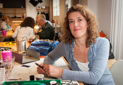 Martine Postma, the inventor of the repair cafe movement