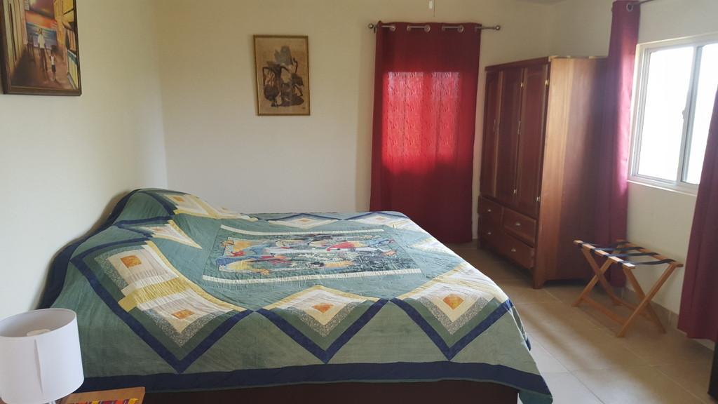 Hilltop cabana bedroom