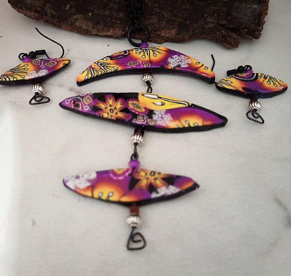Half Moons Necklace set