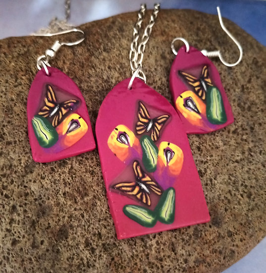 A View from my Window Necklace set #1