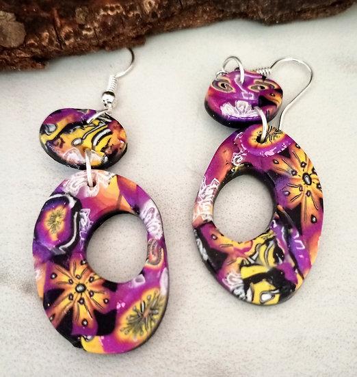 Alegria II Oval Earrings (#1)