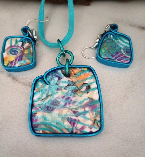 Turquoise Dreams Necklace set