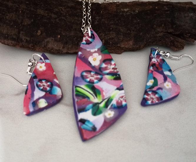 Daisy Mae Triangular-ish Necklace set