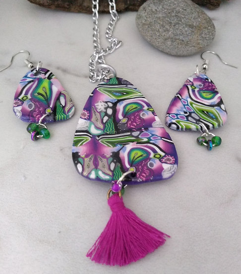Enchanted Forest necklace set
