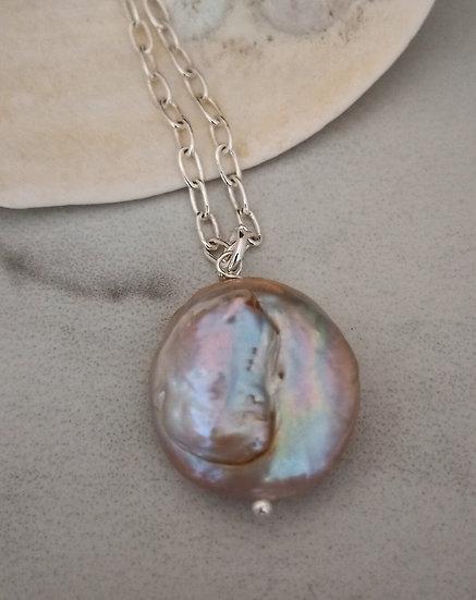 Natural Freshwater Edison Pearl Pendant